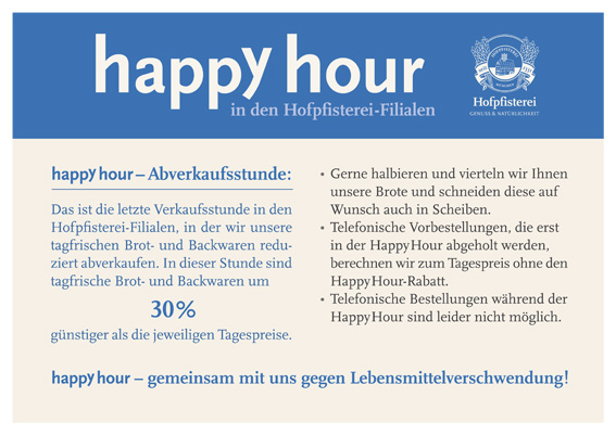 Happy Hour bei der Hofpfisterei